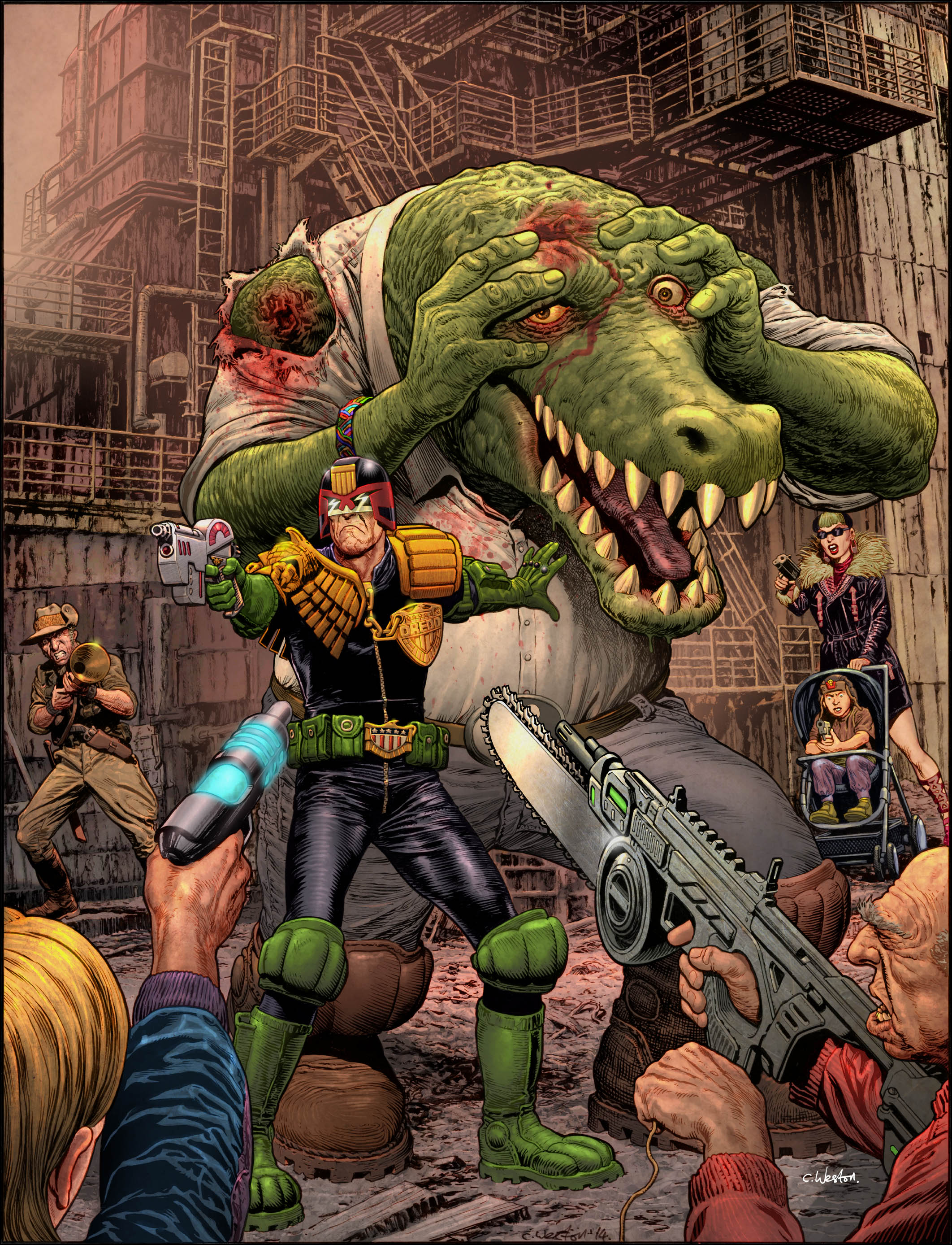 Dredd Klegg cover colour v3